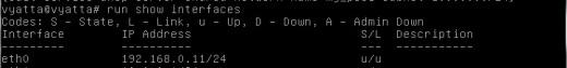 show run interfaces